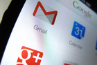 Google services pictured on an iPhone (Reuters)