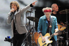 The Rolling Stones performing live in 2012 (Reuters)