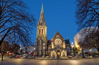 Rebuilding the original ChristChurch Cathedral is one of three options the public can vote for