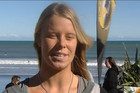 NZ surfer Paige Hareb
