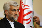 Iran's chief negotiator Saeed Jalili attends a news conference after the talks on Iran's nuclear programme  (Reuters)