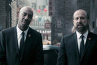 Peter Stormare and J.B. Smoove in the Call of Duty video