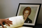A funeral with full military honours will be held for Britain's first female Prime Minister Margaret Thatcher next week (Photo: Reuters)