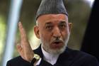 Afghanistan's President Hamid Karzai (file)