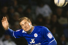 Chris Wood in action for Leicester (Photosport file)