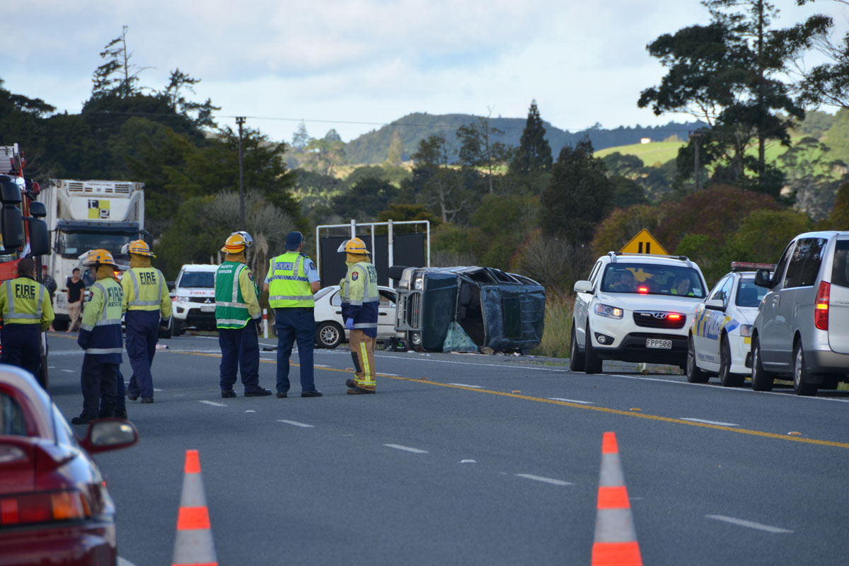 Luke Abbate Accident Driver Charged Napier hastings car crash