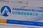 Assignment4u is a company that says it helps with &quot;academic counselling&quot;