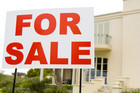 Agents sold 7,104 houses in April, down 13 percent from March, though up by 25 percent from the same month last year (File)