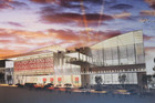A design for the new convention centre