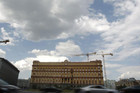 The headquarters of the Federal Security Service in central Moscow (Reuters)
