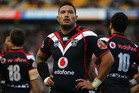 It will be Warriors' back-rower Feleti Mateo's 150th match (Photosport file)