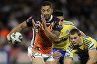 Out-of-sorts Tigers' playmaker Benji Marshall has been dropped to the bench (AAP file)
