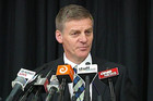 Minister of Finance Bill English