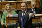 John Key, calling Labour 'the devil beast'