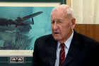 Les Munro from Tauranga is the only pilot still alive to commemorate the World War II raids (file)