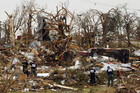 The devastation after several tornados ripped through north Texas (Reuters)