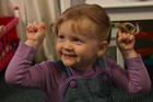 Two-year-old Natalia Kay was born deaf, as was her little brother Jayden