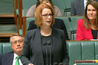 Australian prime minister Julia Gillard