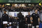 The All Blacks edged France 8-7 to win the 2011 World Cup final (Reuters file)