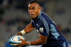 3News - Blues Super Rugby midfield back Francis Saili has been dropped to the becn to face the Crusaders but still finds himself as deputy to Ma'a Nonu for the All Blacks (photosport)