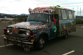 'Artie' the truck in all its glory (photo: Emma Jolliff/3 News)