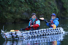 Four double kayaks made out of bottles took part  (Photo: supplied)