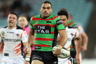 Greg Inglis scored four tries against the Tigers (AAP)