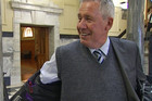 List MP Chris Auchinvole models his attire, which caused controversy in Parliament