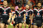 The Warriors after their loss (Photosport)