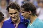 Roger Federer (L) and Rafael Nadal (Reuters file)