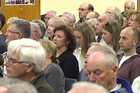 Hundreds attended a meeting on the issue in Takapuna this afternoon