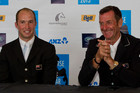 New Zealand eventing great Sir Mark Todd (right) laments the loss of character at the Badminton Horse Trials while talking down his chances of a fifth victory (photosport)