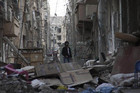 Rubble damage in Syria (Reuters)
