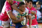 Being smothered early on in the match has the potential to kill off the Canberra Raiders (AAP file)