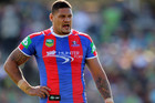Newcastle Knights' Willie Mason has put his hand up for a NSW recall (AAP)