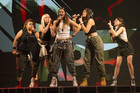 Gap 5 perform 'Hollaback Girl' (Photo: The X Factor NZ)