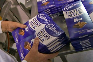 Dairy Milk blocks are growing by 10 percent
