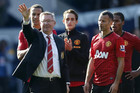 Sir Alex Ferguson waves goodbye (Reuters)