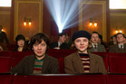 Chloe Grace Moretz and Asa Butterfield in Hugo