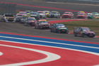Drivers race in the V8 Supercars Texas 400 (AAP file)