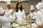 The Duchess in the kitchen (Reuters)