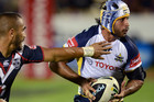 North Queensland star Johnathan Thurston, right (Photosport file)