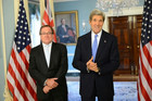 NZ Foreign Minister Murray McCully with US Secretary of State John Kerry (Photo: @StateDept/Twitter)