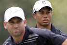 Hardly the best of the friends, the Woods-Garcia relationship hit petty proportions during this month's Players Championship (Reuters)