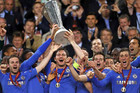 Chelsea won the Europa League final 2-1 against Benfica (Reuters file)