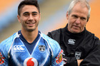 Shaun Johnson has moved to dampen speculation over his relationship with coach Matthew Elliott (photosport)