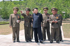 Kim Jong Un has named a new military chief (Reuters)