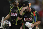 David Warner, right (Reuters file)