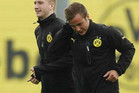 Borussia Dortmund midfielder Mario Goetze, right (Reuters file)
