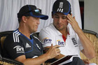 England coach Andy Flower, left (Reuters file)